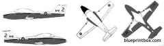 canadair ct 114 tutor model airplane plan