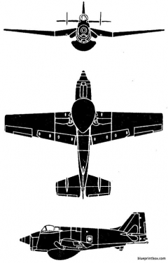 cannet aew3 model airplane plan