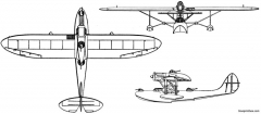 cant z501 2 model airplane plan