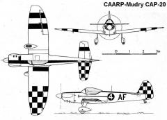 cap20 3v model airplane plan
