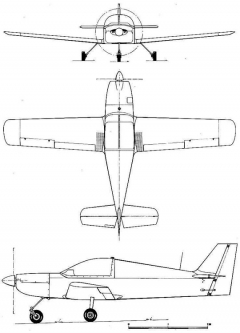 capx 3v model airplane plan