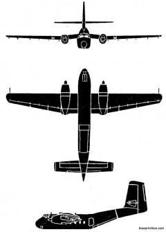 caribou model airplane plan