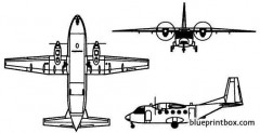 casa c 212 aviocar 100 model airplane plan