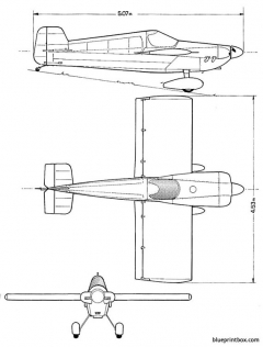 cassuttracer model airplane plan