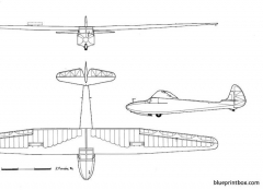 castel c 25 s model airplane plan
