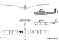 castel c 301 s model airplane plan