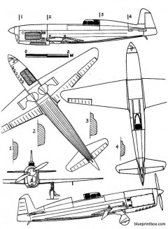 caudron c 460 rafale model airplane plan