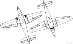 caudron c 635 simoun 2 model airplane plan