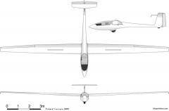 centrair c 101 pegase model airplane plan