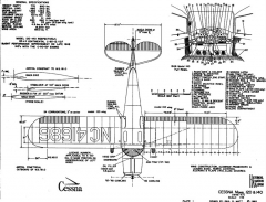 cessna140 2 3v model airplane plan