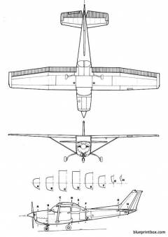 cessna 172 rg cutlass model airplane plan