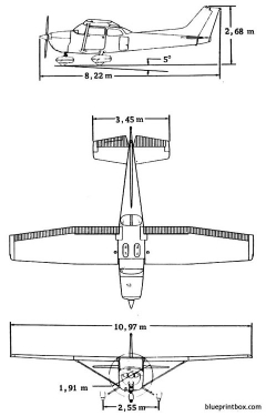 cessna 172 skyhawk model airplane plan