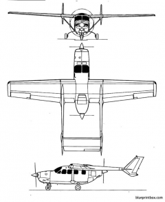 cessna 337 skymaster model airplane plan