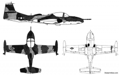 cessna a 37b dragonfly model airplane plan