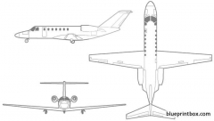 cessna citation cj3 model airplane plan