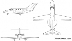 cessna citation mustang model airplane plan