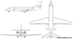 cessna citation sovereign model airplane plan