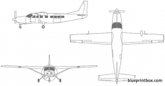 cessna grand caravan model airplane plan
