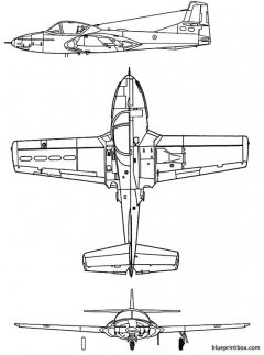 cessna t 37 dragonfly model airplane plan