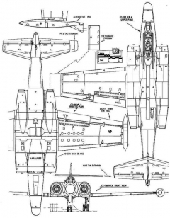 cf100 2 3v model airplane plan