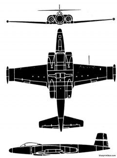 cf 100 mk 5 model airplane plan