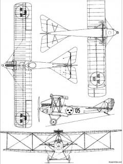 cfm sk1 albatross model airplane plan