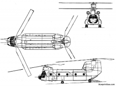 ch 47 chinook 2 model airplane plan