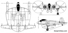 chance vought xf5u  1 model airplane plan