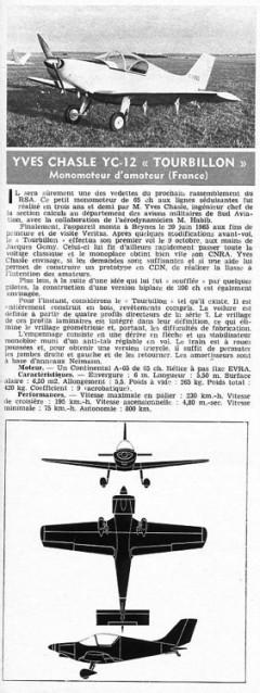 chasle tourbillon model airplane plan