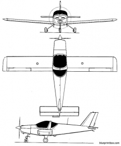 chasles lmc 1 sprintair model airplane plan