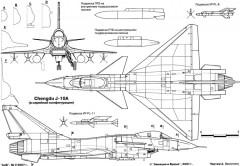 chengdu j 10 3 2 model airplane plan