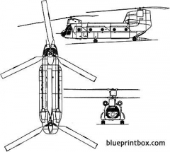 chinook hc2 model airplane plan