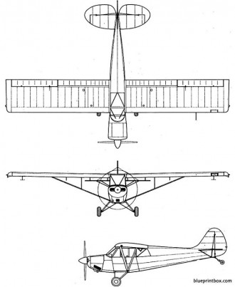 christen a 1 husky model airplane plan