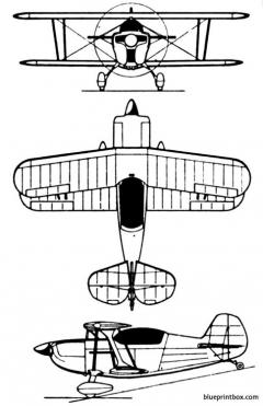 christen eagle ii model airplane plan