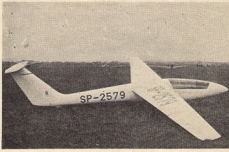 SZD 36A Cobra model airplane plan