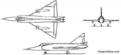 convair f 102 delta dagger model airplane plan