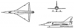 convair f 106 delta dart model airplane plan