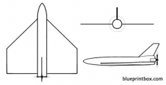 crecerelle model airplane plan