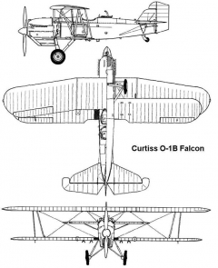 curtiss falcon 3v model airplane plan