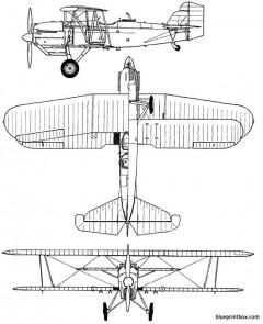 curtiss o 1b falcon model airplane plan