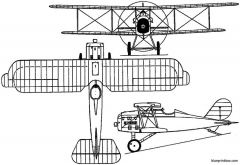curtiss orenco d 1919 usa model airplane plan
