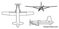 d 4 npu model airplane plan