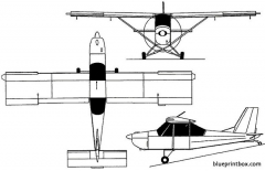 dar 21 vector 2000 bulgaria model airplane plan