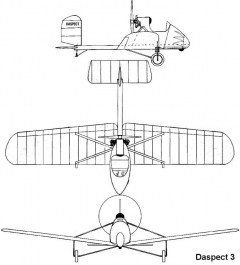 daspect3 3v model airplane plan