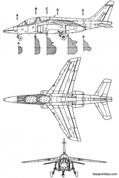 dassault dornieralphajet model airplane plan