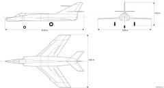 dassault etendard iv m model airplane plan