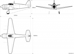dassault mb 152 model airplane plan