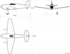dassault mb 157 model airplane plan