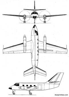 dassault md 415communaute model airplane plan