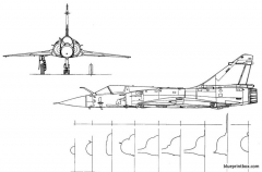 dassault mirage 2000 c model airplane plan